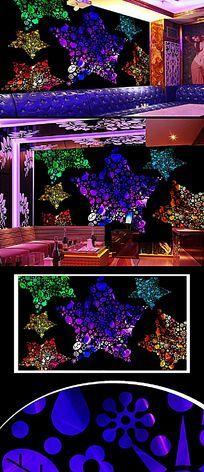 酒吧音乐背景墙设计