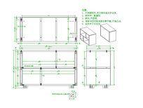六格式储物架CAD素材
