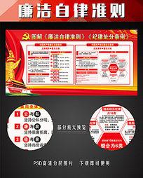 中国共产党准则和条例解读宣传展板