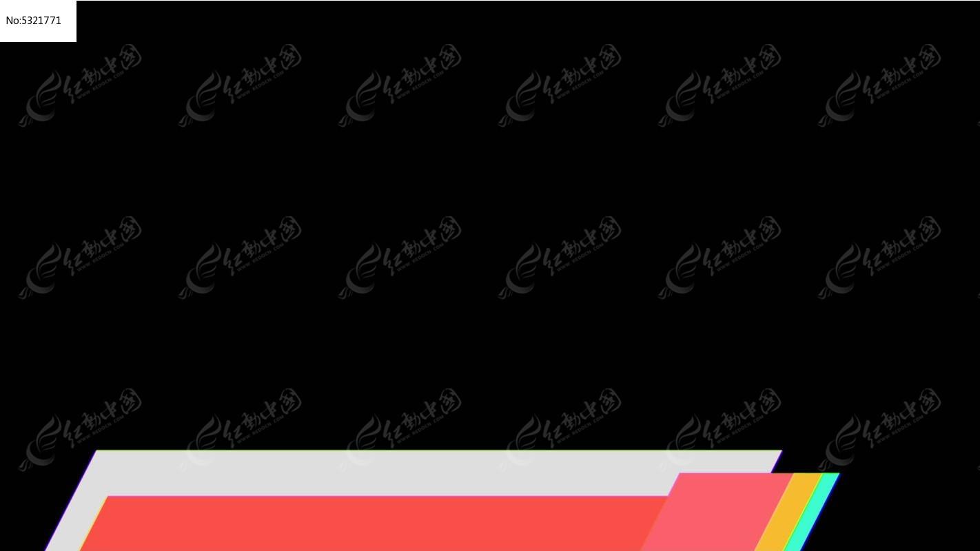 视频_电视栏目字幕条字幕标透明视频素材