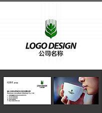 稻穗LOGO标志