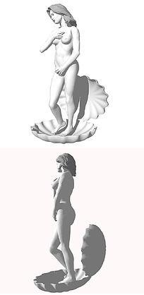 美女大集合su模型设计素材下载_人物 动物模型设计图片