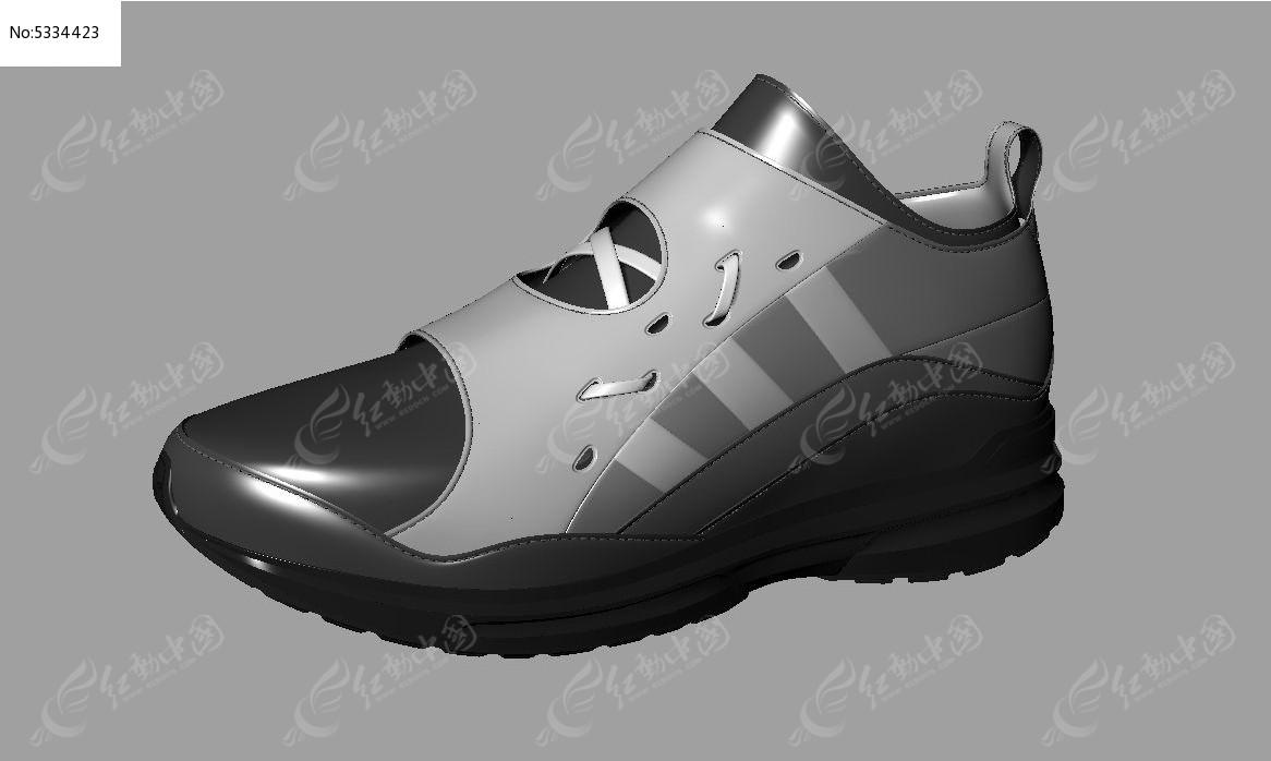 运动鞋设计 3d模型下载