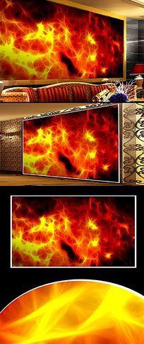 火焰背景图背景墙设计