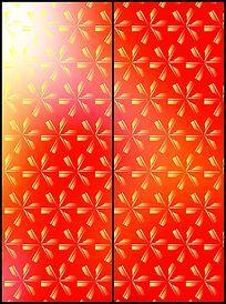 简单几何移门图案