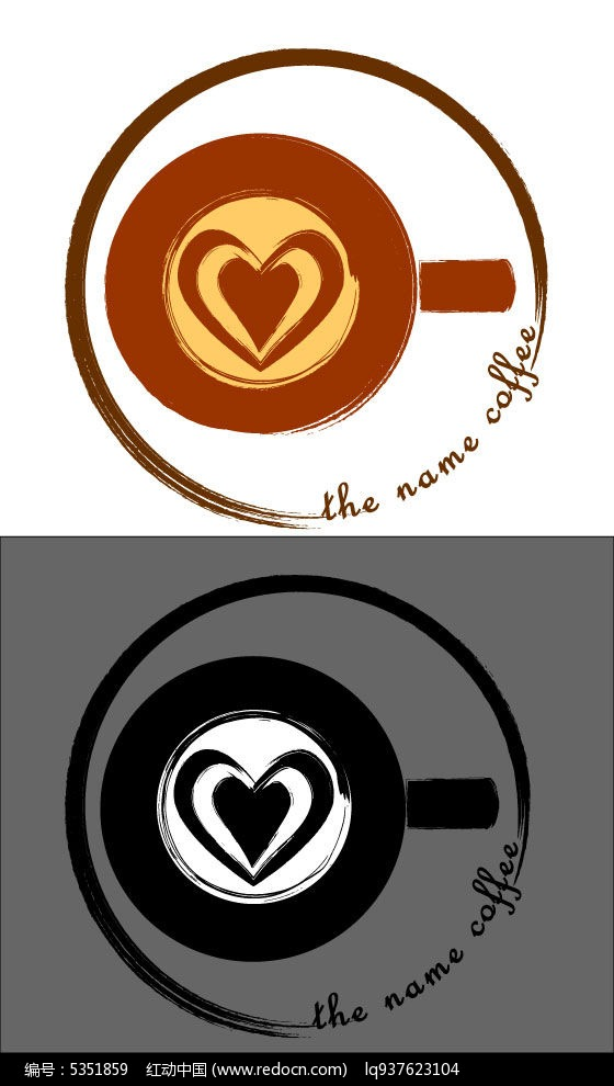 潜在logo室内设计不利咖啡因素图片