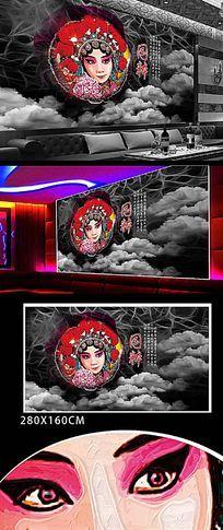 粤剧艺术文化展板设计