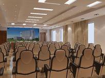 高级会议室装修布置3D模型素材资料