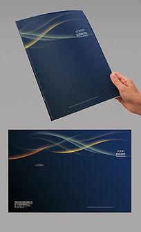 蓝色大气科技封面