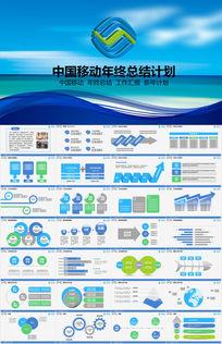 中国移动PPT模版