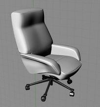 休闲办公椅 3d模型