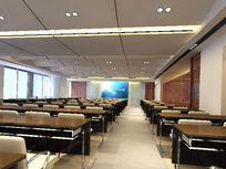 高级大型会议室3D效果素材资料