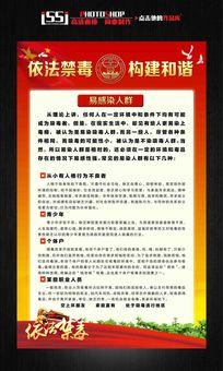 反毒禁毒宣传展板挂画