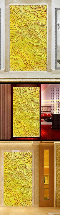 欧式大理石纹电视背景墙