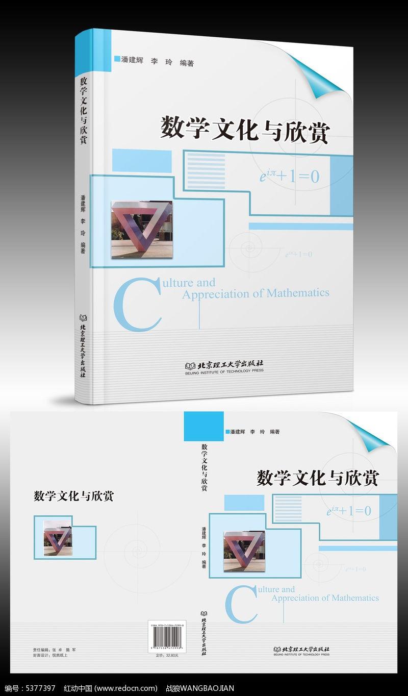 数学文化与欣赏书籍封面设计素材下载 编号5384271 红动网