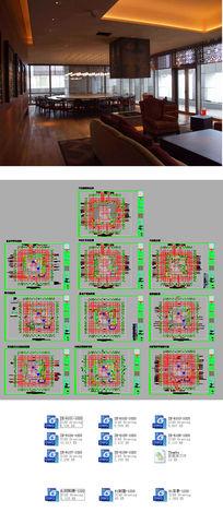 酒店CAD施工图CAD素材