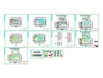 咖啡厅的设计CAD施工图CAD素材