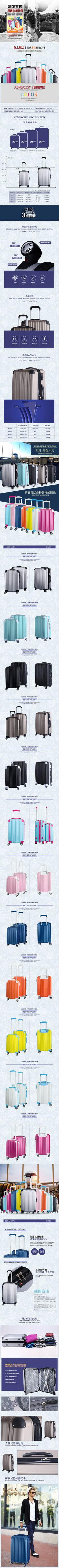 行李箱子详情模板