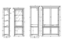 展示柜CAD素材