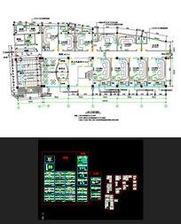 酒店装修施工图和水电施工图CAD素材
