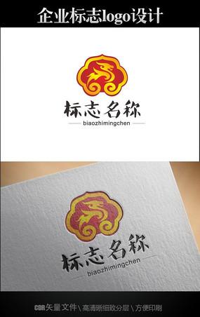 中国风logo 麒麟