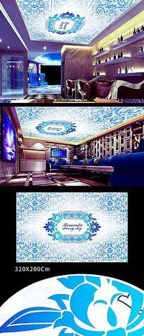 KTV酒吧吊顶装饰设计