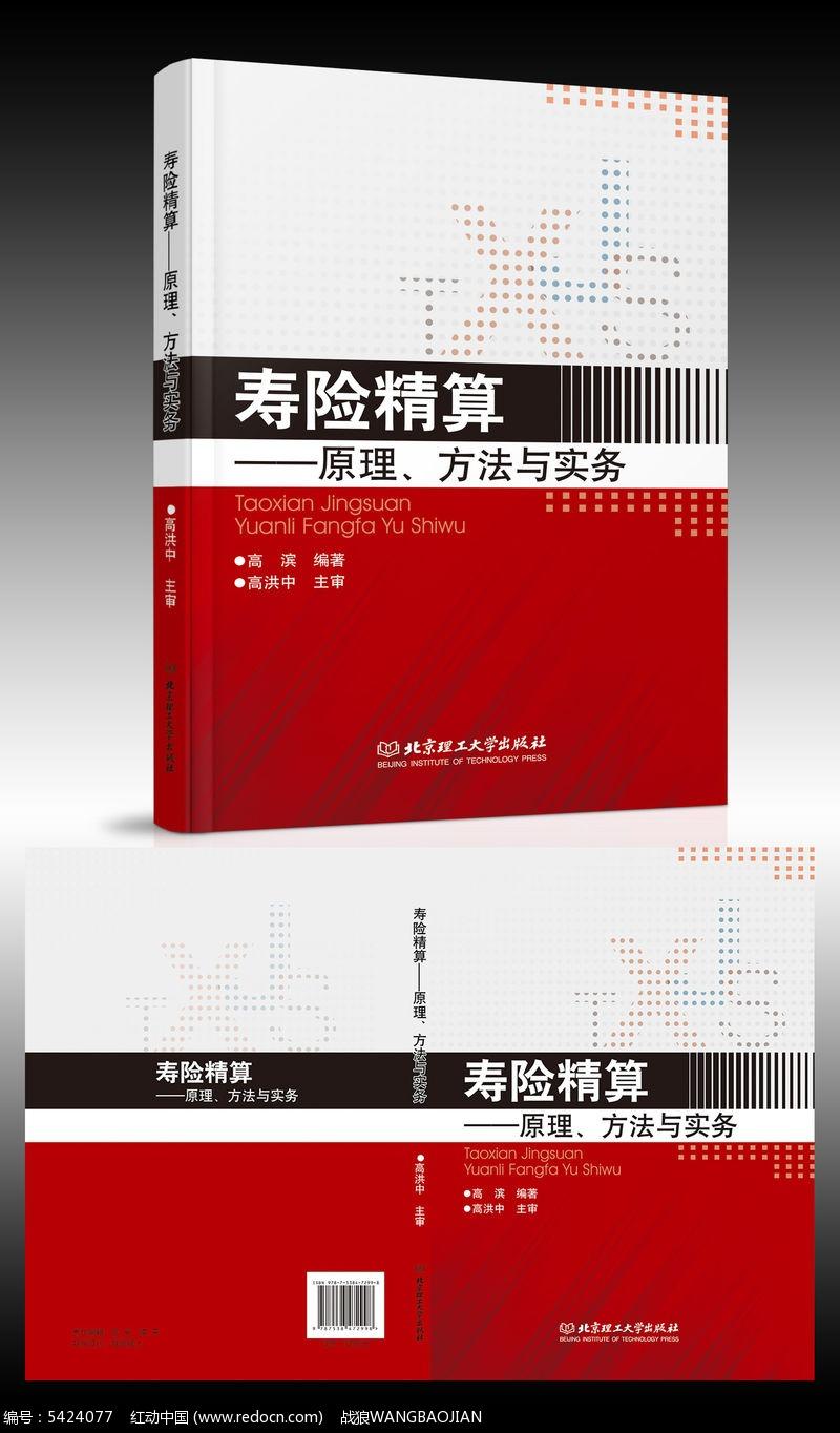 寿险精算书籍封面设计