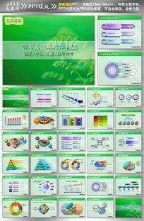 概念绿色PPT设计