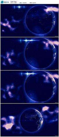 地球转动的动态视频素材