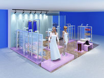 现代简约服装店3d模型max