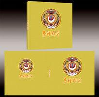 佛教画册书籍封面设计