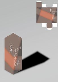 简朴风格日用品包装盒