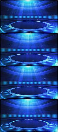 蓝色新闻新时空背景视频素材
