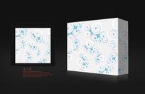 浅白色纸盒设计