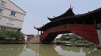 五福源廊桥视频素材