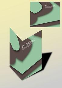 层叠设计简欧书籍画册封面