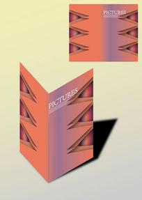 个性文艺对称书籍画册封面