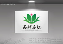 荷花医药logo设计 CDR
