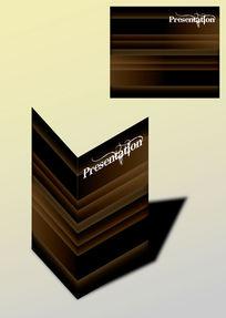 横纹大气高档书籍画册封面