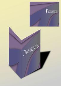 简洁优美书籍画册封面