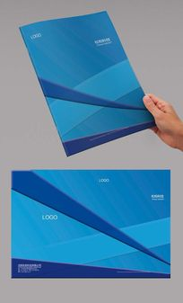 蓝色条纹封面