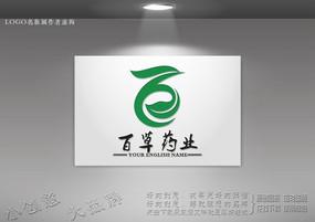 绿叶凤凰标志设计