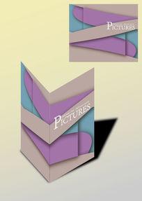 拼色简洁书籍画册封面