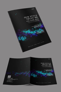 企业宣传册封面设计