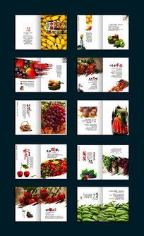 水果画册设计