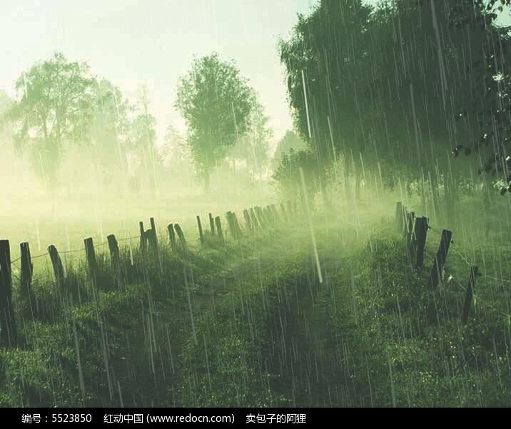 下雨效果ae模板