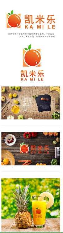 水果logo标志