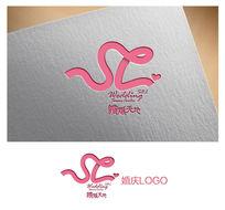 粉色婚庆 logo