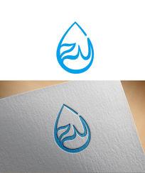 蓝色水滴标志