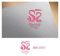 天鹅婚庆logo